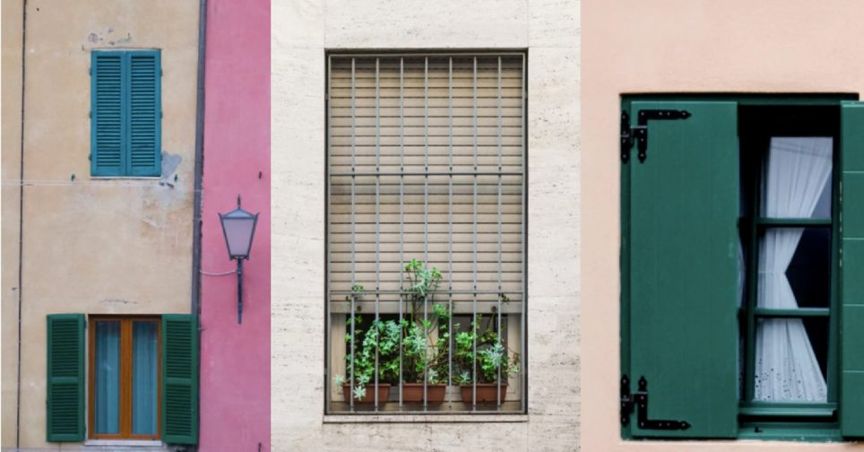 Different between blinds, shades and shutters
