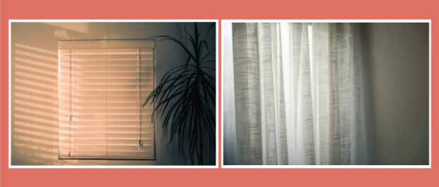 Blinds vs Curtains
