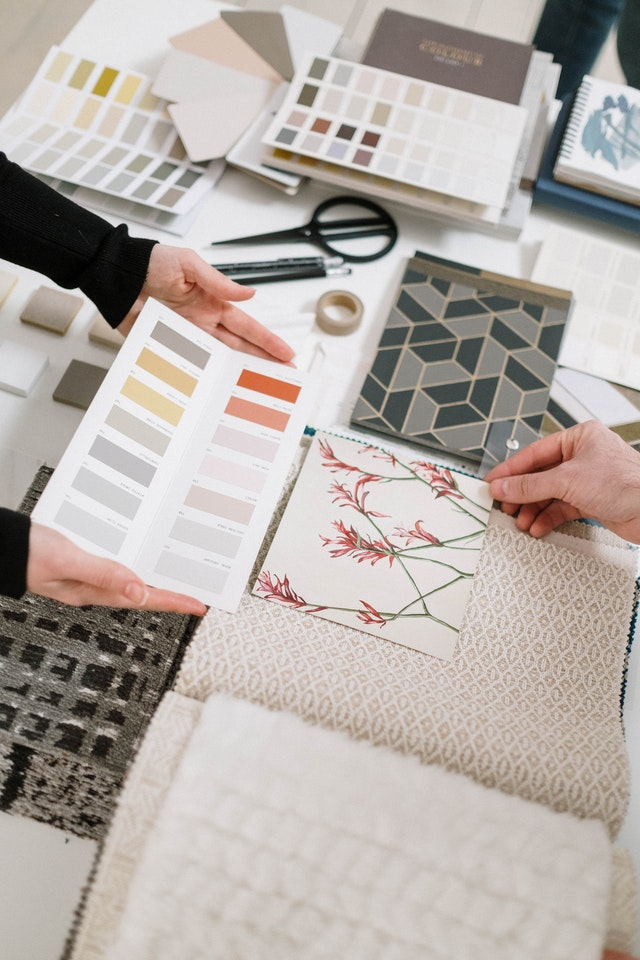 Creating a mood board for your home